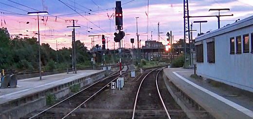 Führerstandsmitfahrt Mannheim