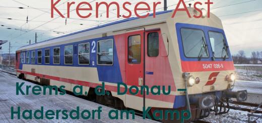 führerstandsmitfahrt krems/donau hadersdorf/kamp kremser ast